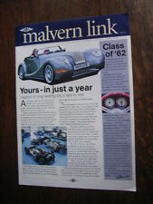 """Malvern link"" (9.2002) - The official magazine of the Morgan Motor Company, GB"