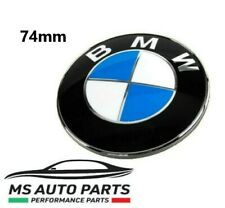 STEMMA COFANO BMW 74 MM LOGO EMBLEMA FREGIO BADGE 74MM PORTELLONE ABS SERIE 1 3