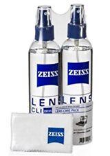 2 x Zeiss 8 oz Spray Bottle, 2 x Microfiber Cloth