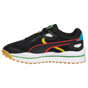 Puma Street Rider WH men's shoes Size 10 Black/Hi Risk Red/Classic Green NEW