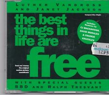 Luther Vandross&Janet Jackson-Free cd maxi single