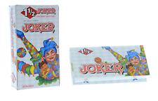 Joker White 1 1/2 1.5 Rolling Papers - 15 PACKS - Natural Arabic Gum RYO Tobacco