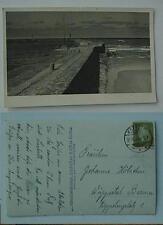 fotokarte strand  foto hans harder stolpemünde 1932