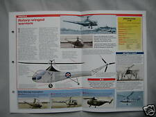 Aircraft of the World Card 45 , Group 11 - Sikorsky R-4/R-5