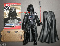 DARTH VADER figure STAR WARS toy SITH LORD Empire Strikes Back LIGHTSABER card