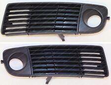 AUDI A6 97-99 paraurti anteriore griglia inferiore con nebbia luci foro SX+DX