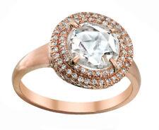 Round Cut GIA Certified 18k White Gold 1.65 Carat Diamond Engagement Ring