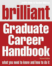 Brilliant Graduate Career Handbook, Done, Judith, Very Good Book