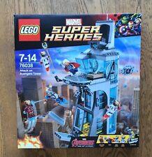 Lego 76038 Marvel Avengers Tower Brand New Sealed