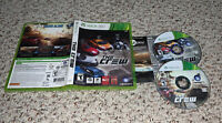 The Crew (Microsoft Xbox 360, 2014) Racing Game Complete