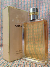 Vintage RARE 90s Chanel ALLURE 1.7 oz 50 ml Eau de Toilette Spray FIRST FORMULA