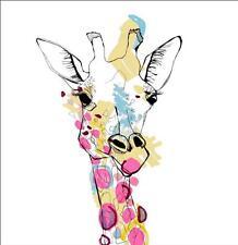 "Casey Rogers Giraffe Color Bathroom Shower Curtain - Rideau de douche 65"""