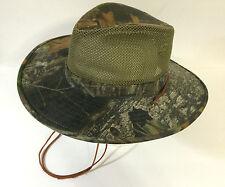 Mossy Oak Break-Up Camo Hat Safari Style size Large