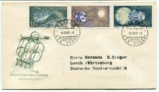 1961 Meziplanetarni Korab Praha Ceskoslovenska Posta Ceskoslovensko Den Vydani
