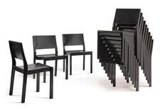 ALVAR AALTO | Twelve Stacking Chairs, Model No. 611