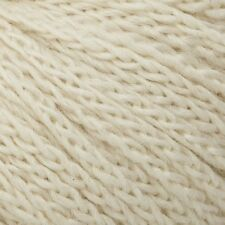 100g Hanks - Cascade Eco Cloud - Undyed Merino/Alpaca - Cream #1801 - $21.95