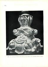 1899 Caryatid Bernie Rhind Alfred Drury City Square Leeds Electric Light Base
