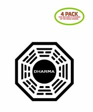 Dharma Initiative Sticker Vinyl Decal 4 Pack