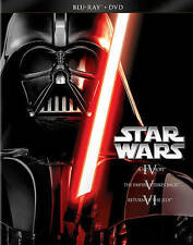 Star Wars Trilogy Episodes IV-VI (Blu-ray + DVD). New. Sealed. Free Shipping.