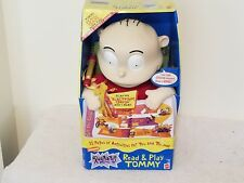 Nickelodeon Rugrats Collectible Read & Play Tommy Rare