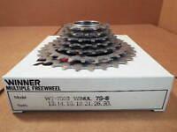 New-Old-Stock Suntour Winner Ultra 7-Speed Freewheel (13x30) w/Silver Finish