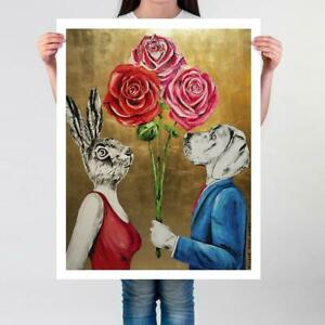 GILLIE AND MARC   Ltd Ed Print  Direct from Artists   Their love kept growing