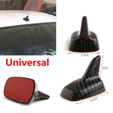 1Pcs Carbon Fiber Style Shark Fin Antenna Cover For Car Exterior Roof Decorative