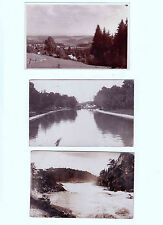 Lot 203: 3 AK PK Fotokarten Landschaften Berge Kanal Fluss ungelaufen vor 1945