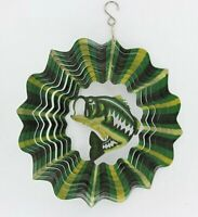 12 inch Bass Wind Spinner Free Shipping