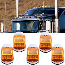 5x17 LED Amber Cab Roof Top Clearance Marker Running Warning Light For Kenworth