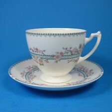 Coalport Bone China APRIL Footed Cup & Saucer Set (s) Made in England