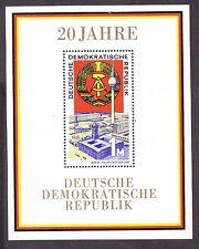 Germany DDR 1141 MNH 1969 20th Anniversary of the DDR Souvenir Sheet VF