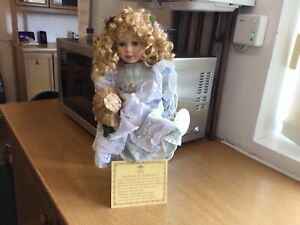 Leonardo Collection Porcelain Doll - Amy