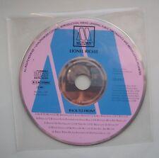 Lionel Richie - Back To Front CD Album.