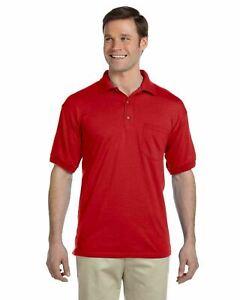 Gildan Men's Dryblend Polo With Pocket Sport Shirt Jersey 8900 Golf Sizes S-5X