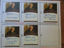 Game of Thrones Season 8 IAN MCELHINNEY Inscription Autograph Card - D