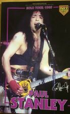 KISS BOOK - PAUL STANLEY SOLO TOUR 1989,