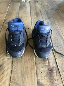 Boys Navy Nike Air Max Trainers  Size 13
