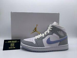 Nike Air Jordan 1 Mid Aluminium Wolf Grey NEU Sneaker Low High Dunk Force Pixel