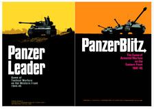 Panzer Leader & Panzer Blitz - 2 Wargames WW2 Avalon Hill Format PDF DVD
