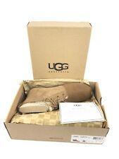 UGG ORABEL CHESTNUT SUEDE/ SHEEPSKIN SLIPPER ANKLE BOOTS, US 7/ EUR 38 ~NEW