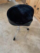More details for unbranded velvet drum throne