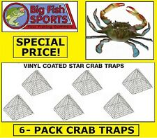 6 STAR CRAB TRAPS Six Crab Traps BRAND NEW! EAGLE CLAW TRAPS!