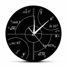 Irrational Numbers Wall Clock Science Mathematical Clocks Watch Classroom Decor