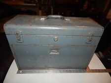 VINTAGE MACHINIST TOOL CHEST BOX 7 DRAWERS WATCHMAKER KENNEDY KITS 520 METAL