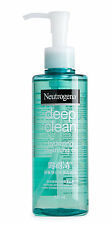 200ml Neutrogena Deep Clean Hydrating Cleansing Oil Make-up Remover Face Wash
