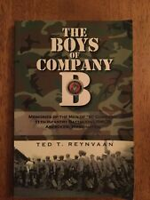 SIGNED The Boys of Company B Ted Reynvaan 11th Infantry Battalion USCMR Aberdeen