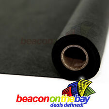 1M Black Thick 2mm Subwoofer Speaker Felt Fabric Carpet Craft Auto Trim Padding