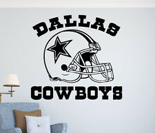 Dallas Cowboys Wall Vinyl Decal NFL Sticker Home Sport Art Decor Football Emblem