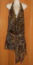 Regular Animal Print Clubwear Asymmetrical Hem Women's Dresses